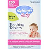 Hyland Homeopathic Baby Natural Relief Teething Tablets - 250 Count