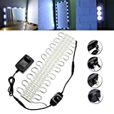 3M SMD5050 Waterproof White LED Module Strip Light Kit Mirror Signage Makeup Lam ( AU plug )