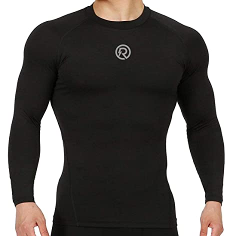 e84bc2a1d Buy Recharge Men Polyester Compression Full Sleeves Tshirt Online at Low  Prices in India - Amazon.in