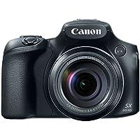 Canon Powershot SX60 16.1MP Cámara digital Lente con zoom óptico de 3 pulgadas Pantalla LCD con inclinación de 3 pulgadas (Negro)