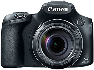 Canon PowerShot SX60 HS Advanced Digital Camera, Black (B00NEWZ8EY) | Amazon price tracker / tracking, Amazon price history charts, Amazon price watches, Amazon price drop alerts