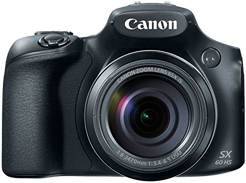 Canon Powershot SX60 16.1MP Digital Camera 65x Optical Zoom Lens 3-inch LCD Tilt...