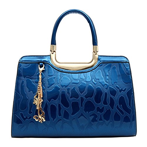 Sabarry, Borsa a mano donna Royal Blue