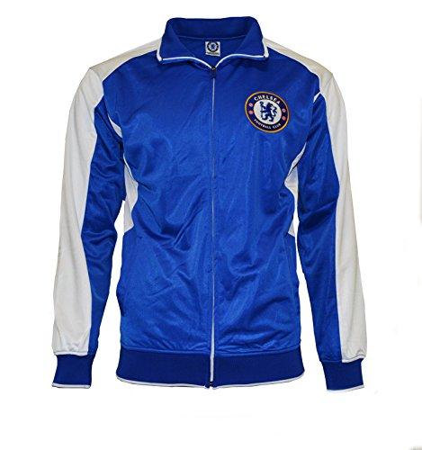 Chelsea Fc Jacket Youth Soccer Zip up Hoodie Kids New Season 2015-2016 (YXL)