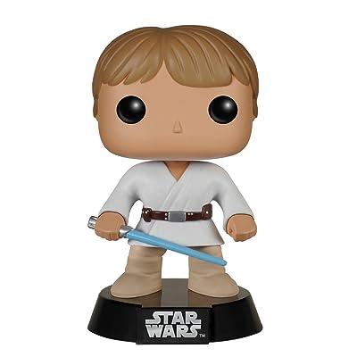 Funko POP: Star Wars Luke Skywalker Tatooine Bobble Head Vinyl Figure: Funko Pop! Star Wars:: Toys & Games