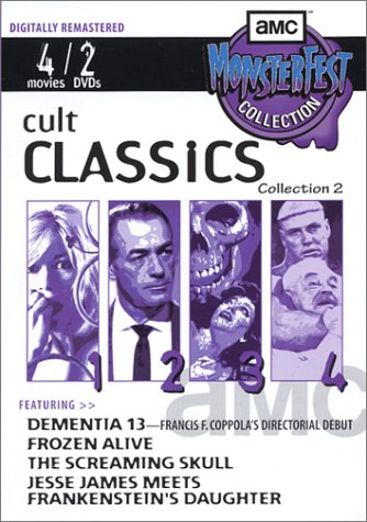 Cult Classics, Collection 2: Dementia 13/Frozen Alive/The Screaming Skull/Jesse James Meets Frankenstein's Daughter -