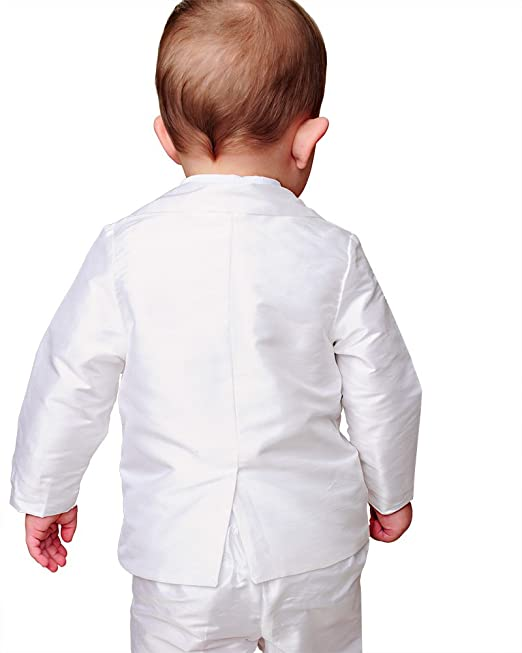 c7cc24b93 Amazon.com: Mitchell 12 Month Silk Christening or Baptism Suits for Boys,  Made in USA: Baby