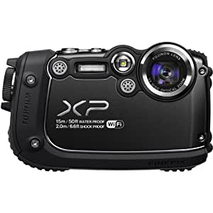 Fujifilm FinePix XP200 16MP Digital Camera with 3-Inch LCD (Black) (Discontinued by Manufacturer)