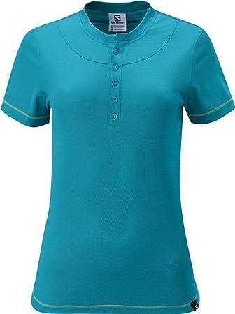 Salomon Damen Maraba Polo Shirt, damen, Boss Blue