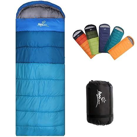 d0fe4526d4 Camping Sleeping Bag, Waterproof Envelope Lightweight Portable Sleeping  Bags Great For 4 Season Traveling,