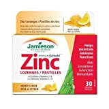 Jamieson Honey Lemon Zinc Lozenges, 30 Lozenges For Sale