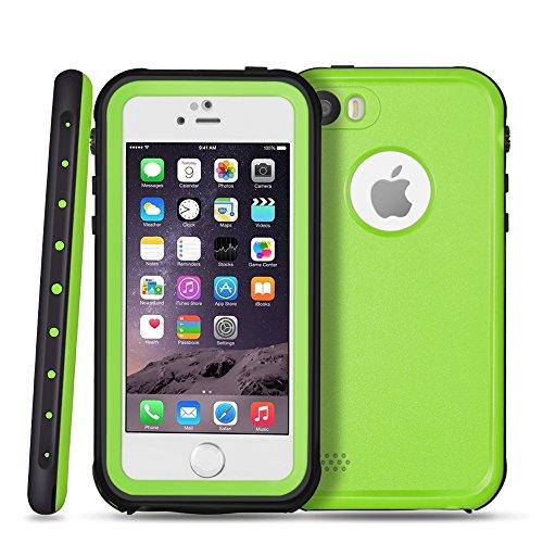 TNP iPhone Waterproof Case Green