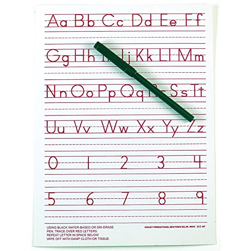 ASHLEY PRODUCTIONS TRADITIONAL MANUSCRIPT WRITE-ON (Set of 24)