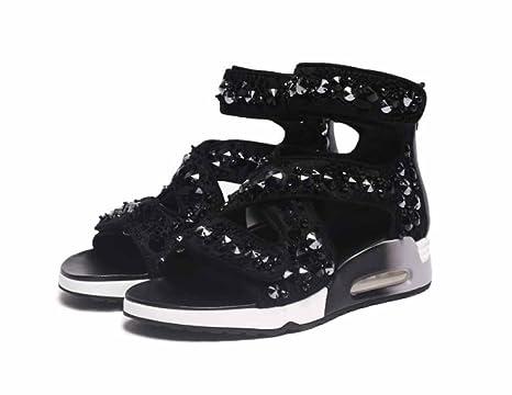 migliori scarpe da ginnastica 64c76 e8a0e Sandali con zeppa sportivi da donna 2018 Scarpe con ...