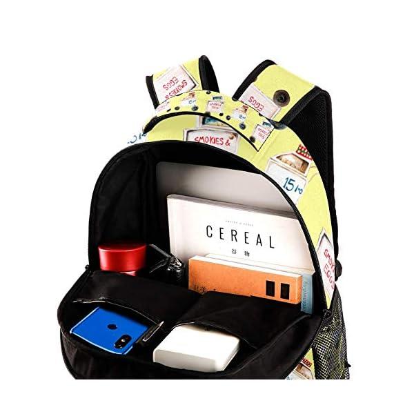 Zaini scolastici 40,6 cm per studenti, borsa da viaggio per computer portatile – trolley auto 4 spesavip
