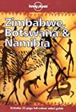 Front cover for the book Lonely Planet Zimbabwe, Botswana & Namibia by Deanna Swaney