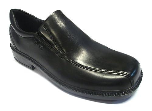 366877fd138b2 ECCO Shoes Boys Junior Dublin Loafers 735502-01001 Black 1 UK Child, 33 EU
