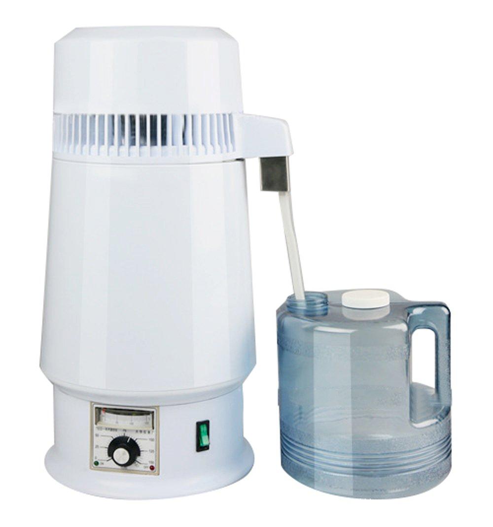Vinmax Countertop Home Water Distiller Machine, Adjustable Temperature Water Distiller 1Gal 4L 750W Pure Water Distiller Electric Lab Home Water Distiller