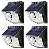 LITOM Lite 30 LED Solar Lights Outdoor, Wireless Easy to Install Motion Sensor Light with 270° Wide Angle, IP65 Waterproof Solar Security Light For Front Door, Yard, Garage, Garden, Patio, Deck-4 Pack: more info
