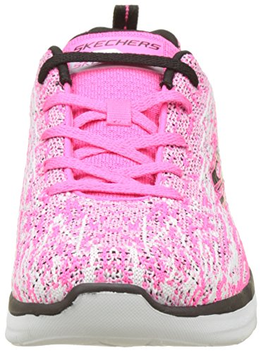 Hot 2 Bleu 0 Black Pink Baskets Spirits High Multicolore Synergy Skechers Femme zp05E