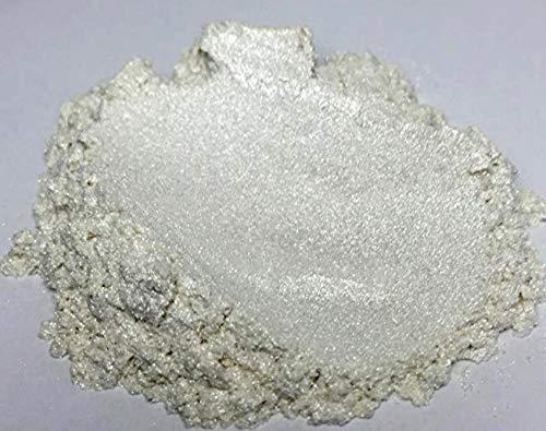 """42g/1.5oz""""Pure Pearl White"""" Mica Powder Pigment (Epoxy,Resin,Soap,Plastidip) Black Diamond Pigments"""
