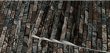 3d Bodenbelage Stein Ziegel Wandverkleidung Pvc Rollen Tapete