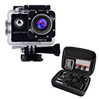 APEMAN Full HD Action Kamera 1080P Sports Camera Cam 170° Weitwinkel-Objektiv...