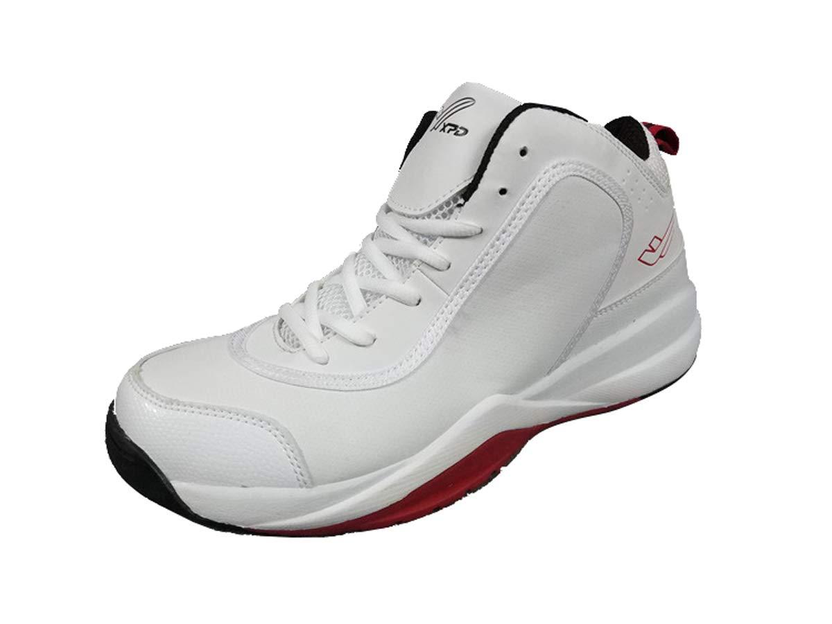 Adong Herren-Basketball-Schuhe Wanderschuhe Outdoor-Schuhe Wasserdichte Schuhe Halbschuhe Schnürschuhe,A,40EU