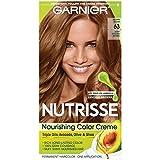 Garnier Nutrisse Nourishing Hair Color Creme, 63 Light Golden Brown (Brown Sugar) (Packaging May Vary)