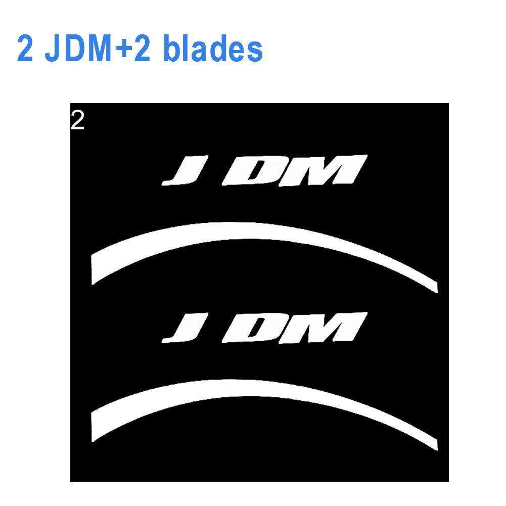 Adesivo per Ruota Pneumatici Auto Bloomma Adesivo per Pneumatici Auto Logo 3D Adesivi per Pneumatici Auto Moto Adesivo per Auto Personalizzato Ruota Adatta per Veicolo