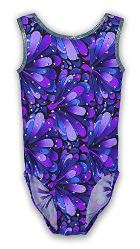 Pelle Gymnastics Leotard - Purple Peacock (Other Prints Available) - CS