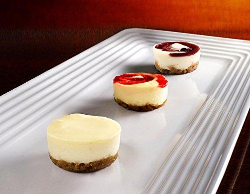 Assortment Cheesecake (Tropical Cheesecake Assortment - Gourmet Frozen Desserts (59 Piece Tray))