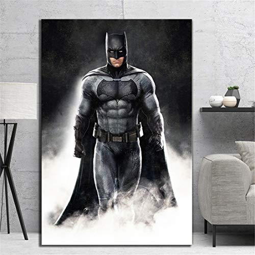 NATVVA The Dark Knight Batman Movie Poster HD Canvas Art Wall Pictures for Home Decor