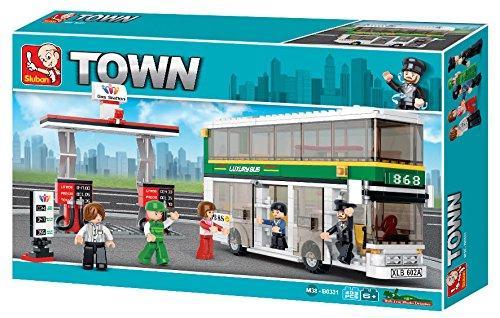 (Sluban Double-Decker Bus Town Building Kit (403 Pieces))