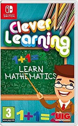 Uig Entertainment Clever Learning Mathematics 1st Grade Nintendo Switch Games And Software