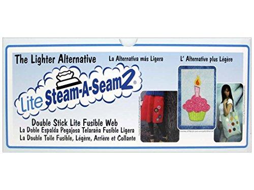 "Warm Company Steam A Seam 2 Lite Fusible Web 24/"" Wide 3-Yard Roll"