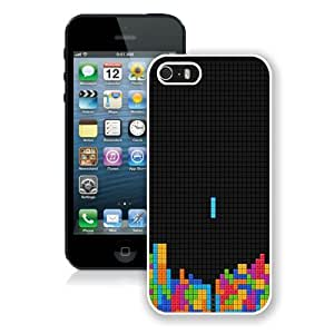 Tetris White Best Buy Customized Design iPhone 5S Case