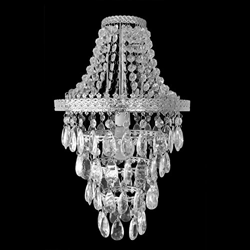 Easy fit chandelier style ceiling pendant light shade fitting modern easy fit chandelier style ceiling pendant light shade fitting modern lighting amazon lighting aloadofball Images