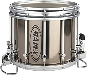 mapex quantum xt snare drum grey steel 14 x 12 inch musical instruments. Black Bedroom Furniture Sets. Home Design Ideas