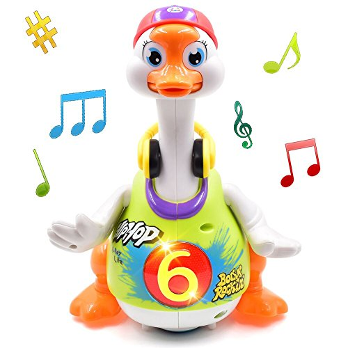 TOYK Dancing Hip Hop Goose Super Fun Toy with Music