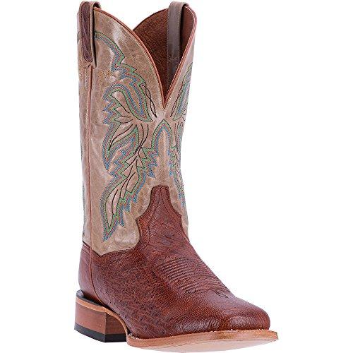 Dan Post Mens Been Callahan Struisvogel Huid Cowboy Laarzen