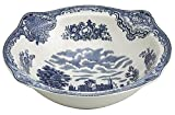 Johnson Brothers Old Britain Castles Blue Open Vegetable Platter