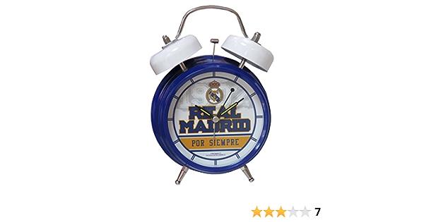 Real Madrid DM-11-RM Despertador Musical Himno: Amazon.es: Juguetes y juegos