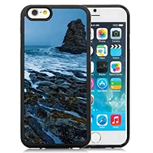 Surging Wave Among Rock Mountain Durable High Quality iPhone 6 4.7 Inch TPU Case