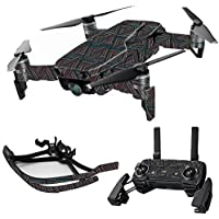 MightySkins Skin for DJI Mavic Air Drone - Triangle Stripes | Max Combo Protective, Durable, and Unique Vinyl Decal wrap cover | Easy To Apply, Remove, and Change Styles | Made in the USA