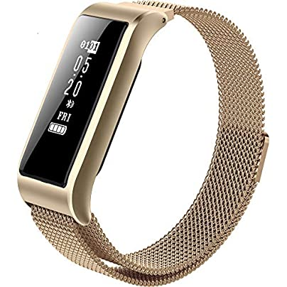 ACCDUER Smart Band IP67 Waterproof Smart Fitness Band with Step Counter Heart Rate Monitor Wristband Bracelet for Kids Women and Men Easy Use Estimated Price £38.57 -