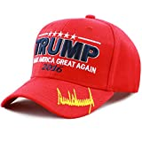"The Hat Depot Exclusive Trump 2016 ""Make America Great Again"" 3D Signature Cap"