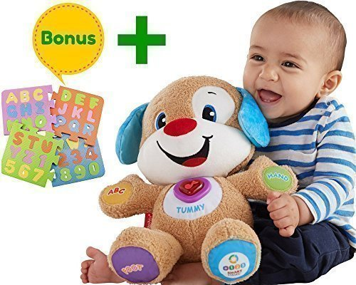 Fisher Price Laugh & Learn Smart Stages Puppy | Babies Toys Learn Smart Stages | Educational toys for toddlers, Infants | With A Humble Bundle - Juguetes Fisher Price