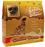 Wet Noses Little Stars Dog Training Treats, Cheddar, USDA Organic, 9 oz Box