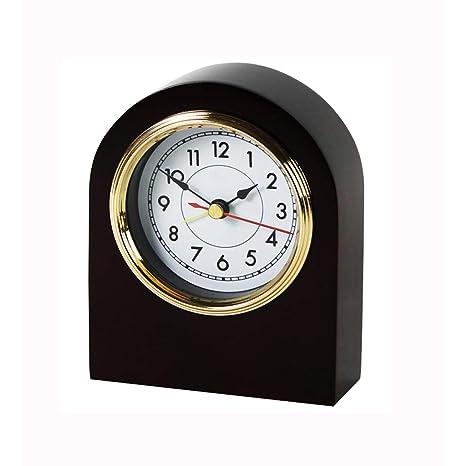 Despertador de Madera Reloj pequeño Reloj Mesa Decoración de ...